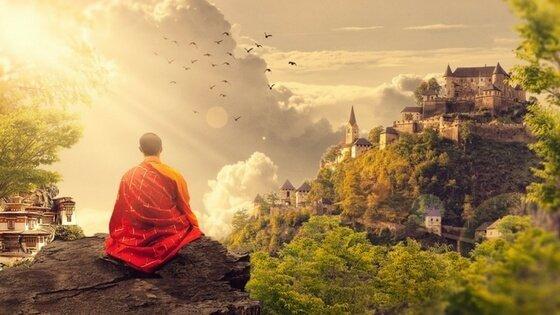 Entschleunigung: Geistesgegenwart durch Meditation